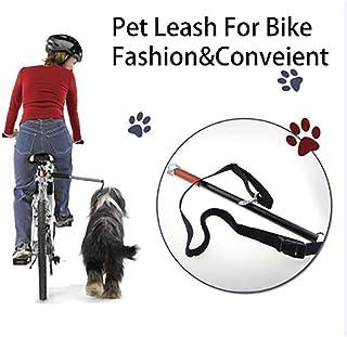 自転車牽引犬の散歩、乗馬犬の鎖、犬の鎖、サイクリング犬、大きな犬の鎖、犬ハンドラー