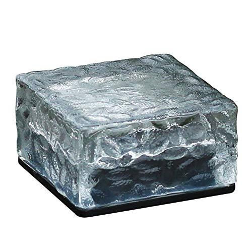 4 Packungen Warmes Licht Solar Im Freien Wasserdichtes Led-Licht, Hochwertiges festes Material, Starke Lichtübertragung, Keine Verkabelung erforderlich, Eingebettete Installation