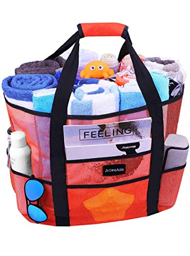 Aomais Beach Bag (Orange)