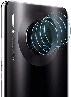[4-Pack] PULEN for Xiaomi Poco F2 Pro Camera Lens Protector,HD Anti-Fingerprints Anti-Scratch 9H Hardness Tempered Glass