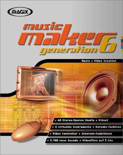 Magix Music Maker Generation 6