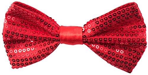 Sequin Bow Ties for Men - Pre-tied …