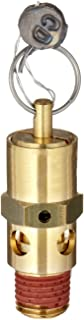 Control Devices SA Series Brass ASME Safety Valve, 150 psi Set Pressure, 1/4
