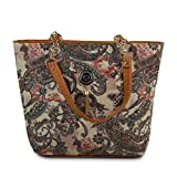 Star Dust Women's Tote Bag (Handbag-Bil_Brown)