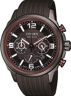 Citizen Men's Analog Eco-Drive Watch with Polyurethane Strap CA4386-10E