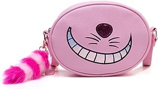 Alice In Wonderland Cheshire Cat Shaped Shoulder Bag With Shoulder Strap Neceser 23 centimeters Rosa (Pink)