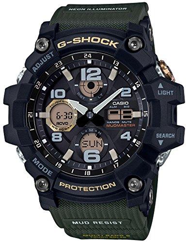 [カシオ] 腕時計 ジーショック MUDMASTER 電波ソーラー GWG-100-1A3JF メンズ