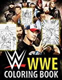 WWE Coloring Book: With the best battle scenes of all time superstar, this coloring book is the best gift for WWE fan