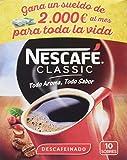 Nescafé Classic Descafeinado - Café Soluble - 6 Paquetes de 10 Sobres - Total: 60 Sobres