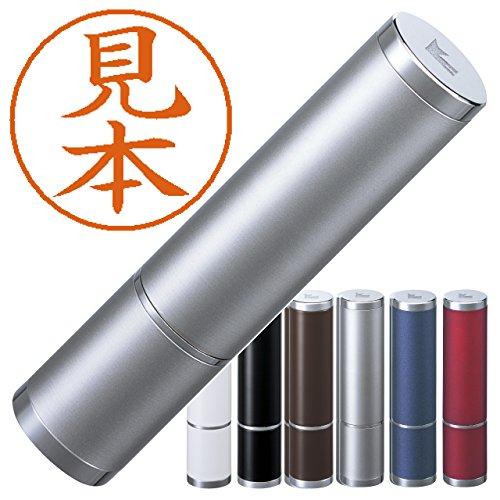 シヤチハタ ネーム9 Vivo マットシルバー 別注品 9.5mm丸