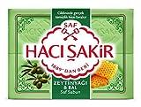 Haci Sakir Olivenöl und Honig Seife 4er Pack, 4 x 150g (600g)