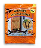 Halloween Decor Inflatable Witch Leg Stakes - 2 Count