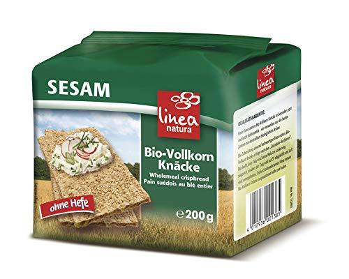 Linea Natura - Sesam Vollkorn Knäcke - 200 g - 10er Pack