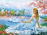 Puzzlecao Rompecabezas 1000 Piezas Tortuga azul Niños adultos pintura en color rompecabezas juego de ocio gran rompecabezas perfecto arte familia decoración de la pared sala de estar