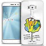 Caseink - Coque Housse Etui pour ASUS Zenfone 3 ZE552KL (5.5) [Licence Officielle Collector Les...