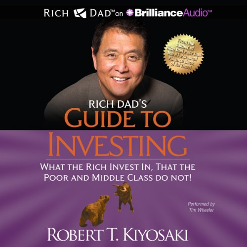 Rich Dad's Guide to Investing audiobook cover art