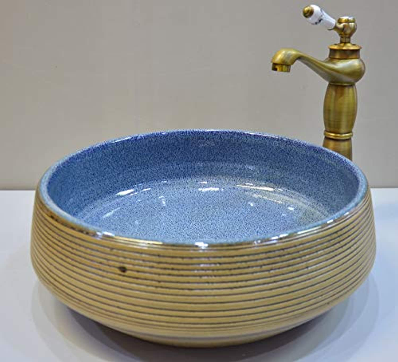 JD17207 Waschbecken mit Aufsatz und Waschbecken aus Keramik