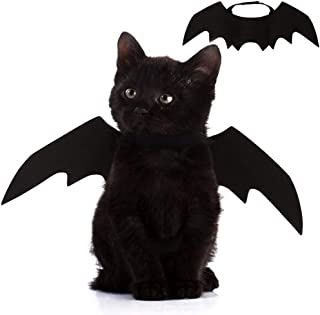 بال های خفاش گربه حیوان خانگی Nigua برای هالووین ، تزیین لباس بال خفاش Cosplay برای گربه سگ توله سگ