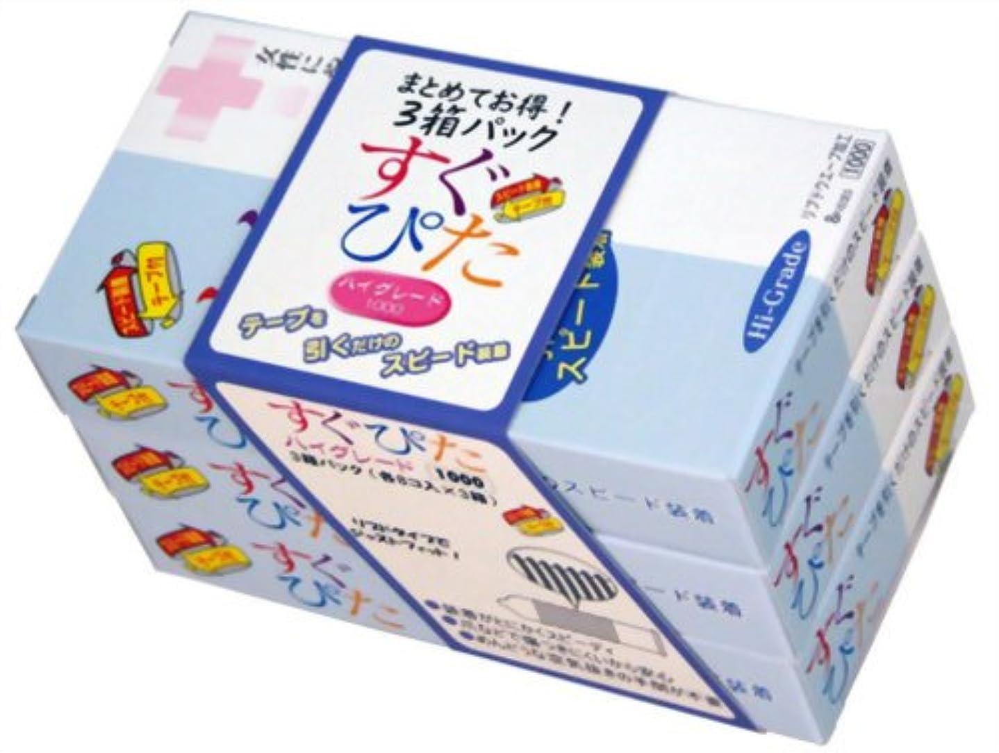 生き残ります行く電報コンドーム すぐぴた ハイグレード 1000 8個入×3箱 (計24個入)