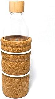 Botella de cristal resistente, ecológica, muy práctica y de gran calidad -Lagoena
