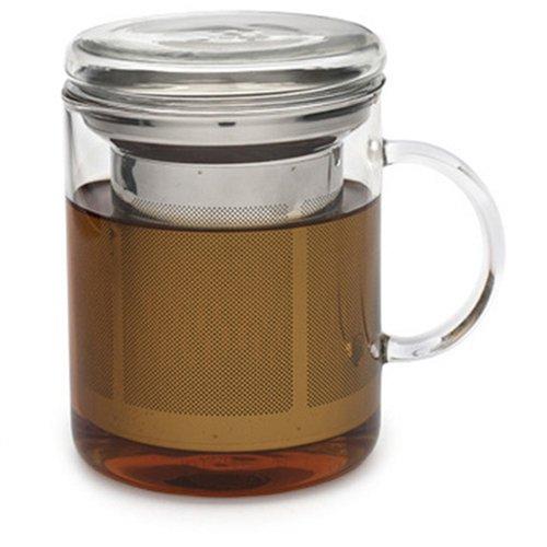 Adagio Teas 14 oz. Glass Mug & Infuser
