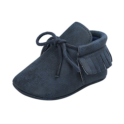 Antheron Infant Moccasins - Unisex Baby Boys Girls...