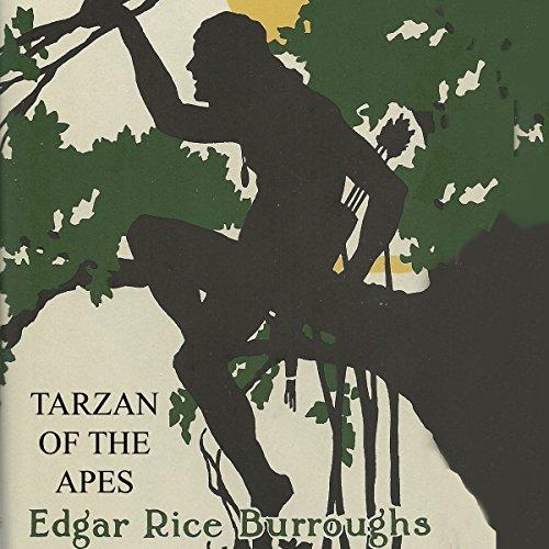 Tarzan of the Apes audiobook cover art