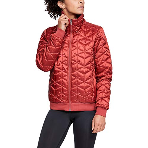 Under Armour Coldgear Reactor Performance Veste Femme Rose FR : M (Taille Fabricant : Taille MD)