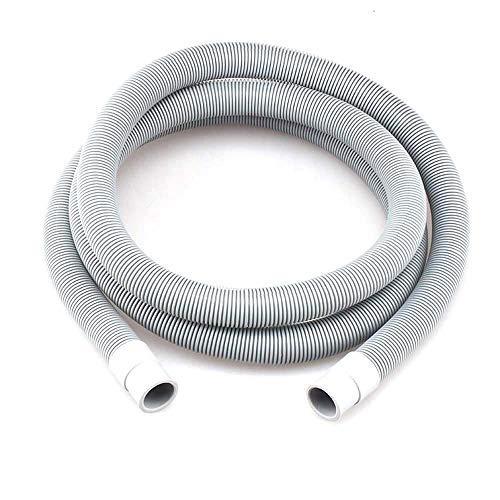 EWQK Manguera de Drenaje Lavadora Universal Lavavajillas Drenaje de residuos Manguera de la Manguera Kit de tubería 1/2 / 3M para Lavadora (Color : 3M)
