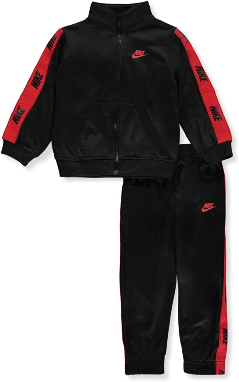 Nike Kids Boy's Logo Taping Jacket and Pants Two-Piece Track Set (Little Kids)