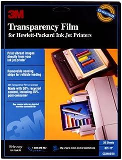 3M CG 3460 Inkjet Transparency Film photo