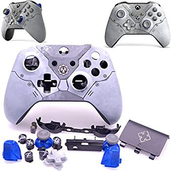 Deal4GO Replacement Full Shell Housing kit with LB RB/Thumbstick Buttons for Xbox One Wireless Controller 1708 Gears 5 Limited Edition