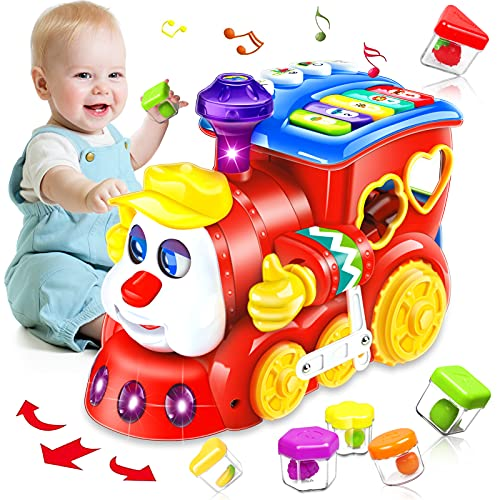 HOMOFY Baby Toys 12-18 Months Train Toy for 1 Year Old Early...