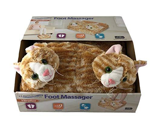 Plush Foot Massager Comfort Relax Tired Feet Unicorn Cat Styles (Cat)