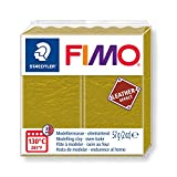 Staedtler- Fimo Leather-Effect Pasta per Modellare in Forno, Colore Oliva, 57 g, 8010-519 ST