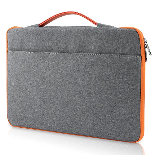 "All-inside Gray Oxford Fabric Sleeve Full Protection for MacBook Pro 15"" with/without Retina and New MacBook Pro 15"" with Touch Bar"