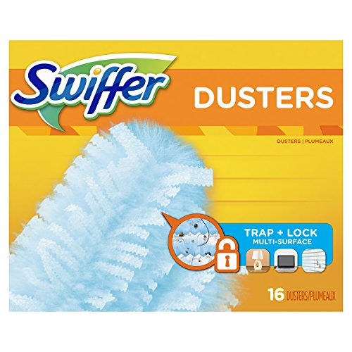 Swiffer Dusters Disposable Cleaning Dusters Refills Unscented, 16 Count