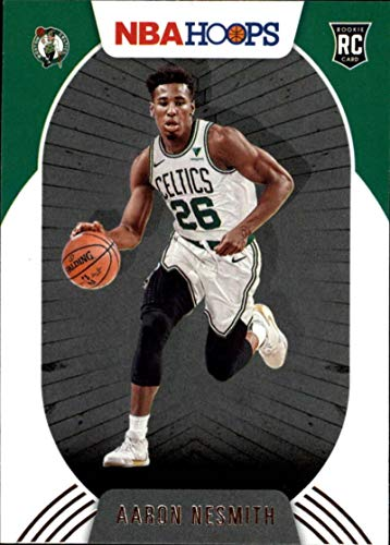 2020-21 NBA Hoops #202 Aaron Nesmith RC Rookie Boston Celtics Official Panini Basketball Trading Card (Stock Photo, NM-MT Condition)