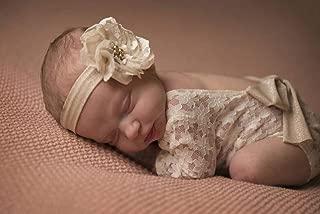 Neugeborene Baby Mädchen Spitze Body Strampler Overall Fotoshooting Kostüm 0-6M