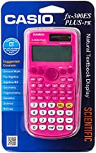 Casio fx-300ES PLUS Scientific Calculator, Pink