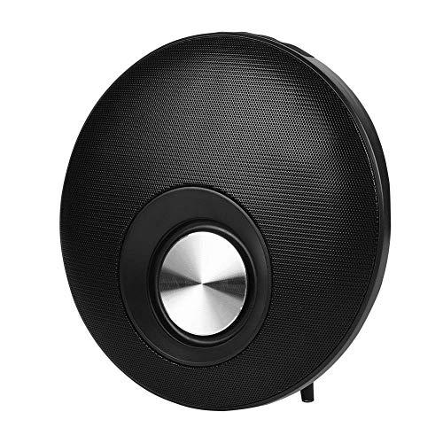 SXXYTCWL Bluetooth-Lautsprecher, Stand drahtlose Bluetooth-Lautsprecher, Stereo-Musik-Lautsprecher Tiefbass-Subwoofer Soundeffekt (schwarz) jianyou (Color : Black)