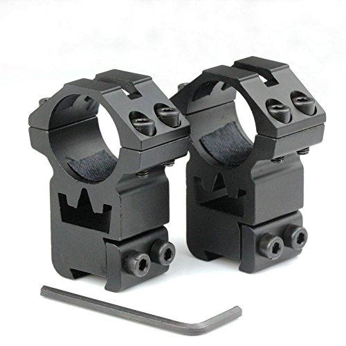 """VERY100 25,4 mm (1"""") Zielfernrohr Montage,11mm Weaver Picatinnyschiene dünne Höhenbefestigungen"""