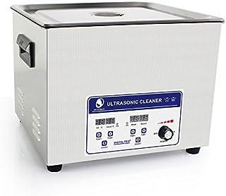 Cgoldenwall Jp-060s 15L à ultrasons machine de nettoyage pour dentier Bracelet nettoyeur à ultrasons appareil de nettoyage...