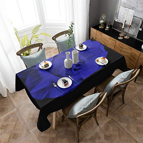 OUR WINGS Tablecloth Cotton Linen Table Cover 60