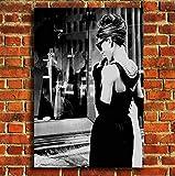 Box Prints Audrey Hepburn Frühstück bei Tiffany Film