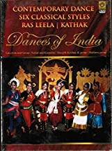 Contemporary Dance Six Classical Styles Ras Leela / Kathak -Dances of India (Brand New Single Disc Dvd, English Language, With English Subtitles) By Geethanjali