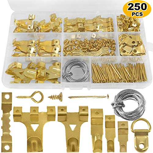 Painting Hanging Kit Heavy Duty Photo Frame Hook 30//50LB Metal Ring Picture Frame Hangers NoBrand Jungle-A Picture Wall Hangers