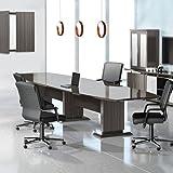 8ft - 16ft Modern Designer Conference Room Table, Office Meeting Boardroom, 10ft 12ft 14ft...