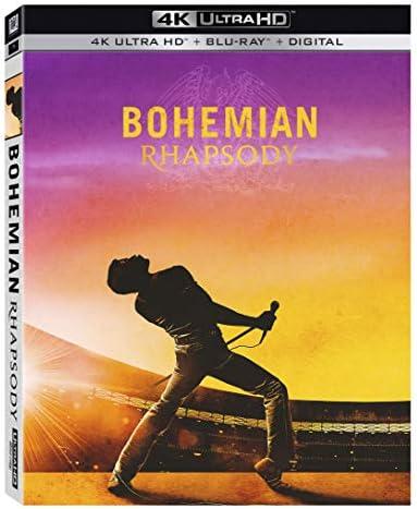 Bohemian Rhapsody Blu ray product image