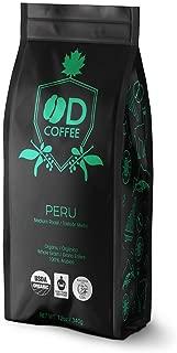 OD Coffee Fair Trade Organic Peru Medium Roast Coffee 12oz / 340gr